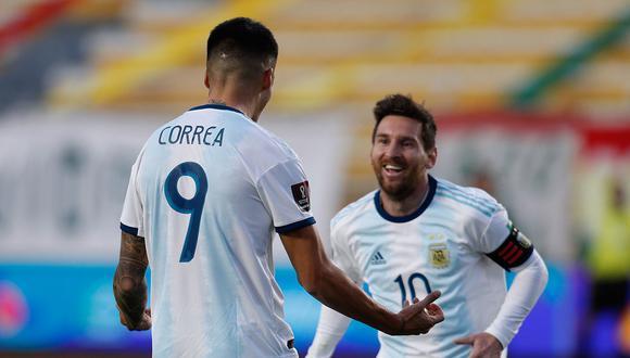 La lista de convocados de Argentina para enfrentar a Paraguay y Perú (Foto: AFP)