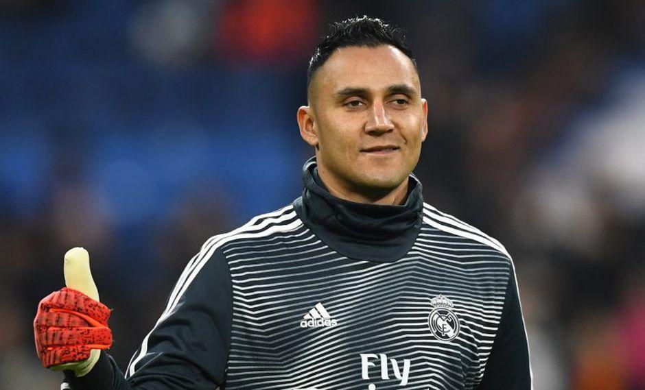 Keylor Navas se quedará en Real Madrid hasta el año 2021 (Foto: AFP).