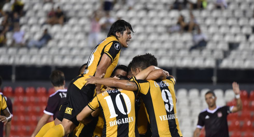 Guaraní enfrentará a Olimpia o Junior en la siguiente ronda previa a la fase de grupos de la Copa Libertadores. (AFP)