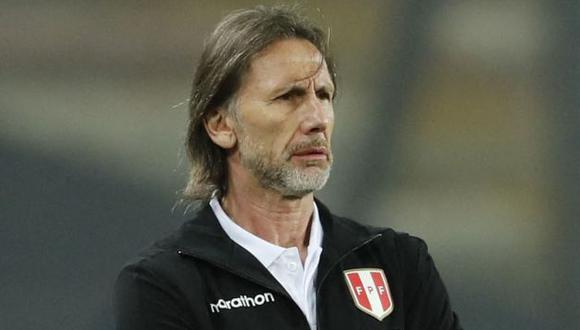 Ricardo Gareca volvió a Lima para planificar trabajos de la selección peruana. (Foto: AFP)