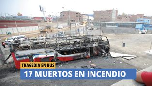Fiori: Tragedia en bus deja 17 muertos
