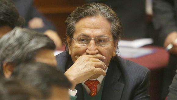 Alejandro Toledo responderá el 25 de octubre. (Martín Pauca)