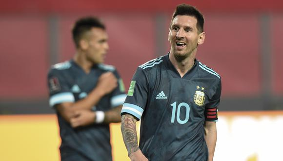Lionel Messi se convirtió en el jugador con más victorias en la selección argentina. (Foto: AFP)