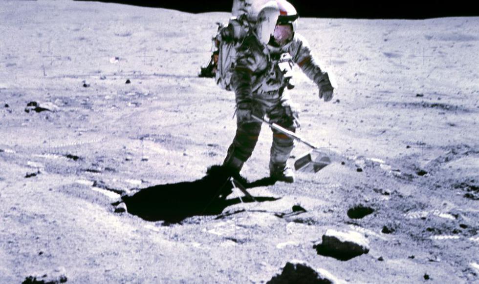 ¡Confirmado! ¡Hay hielo en la Luna!  (AFP)