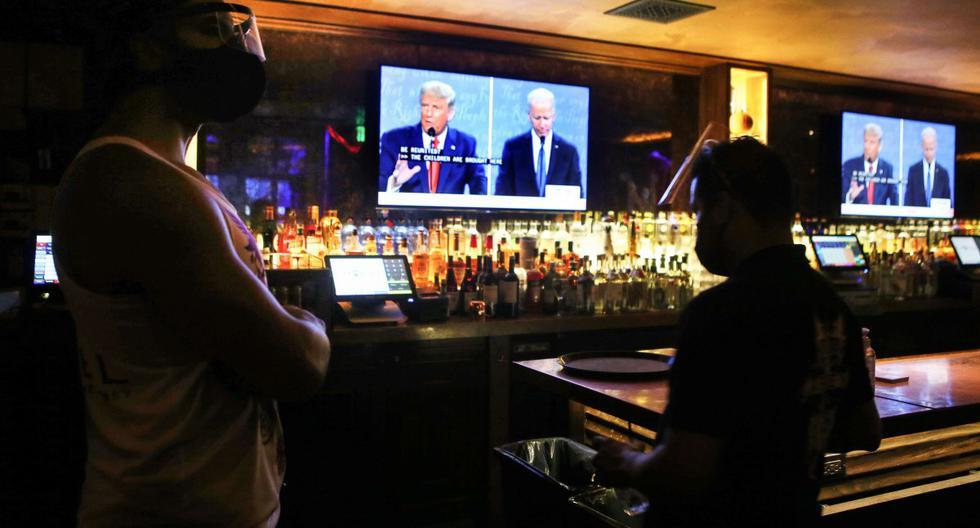 EE.UU.: Primeros datos muestran caída de audiencia en segundo debate entre Trump-Biden