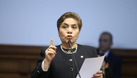 """Luz Salgado indicó que la propuesta de cuotas de género en política """"ya cumplió su función"""". (Foto: GEC)"""
