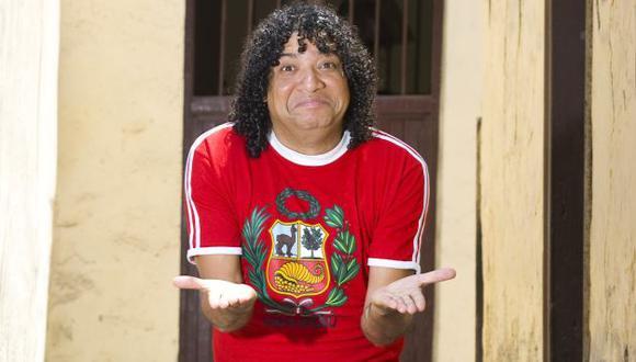 Cómico Carlos Vílchez es el protagonista de 'Macho peruano que se respeta'. (Rafael Cornejo)