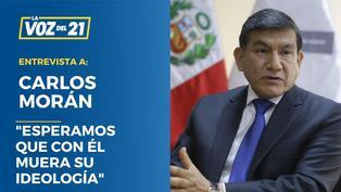 """Carlos Morán: """"Esperamos que con él muera su ideología"""""""