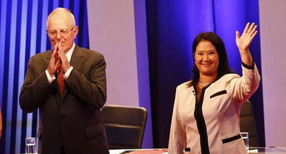 """Así reaccionaron los políticos a a """"fuego cruzado"""" entre PPK y Keiko Fujimori en el debate presidencial. (Piko Tamashiro)"""