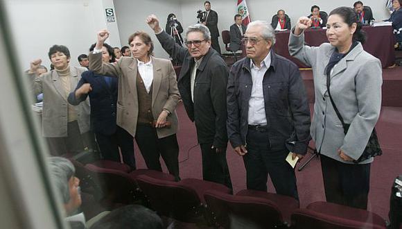 Los miembros de la cúpula de Sendero Luminoso (en la imagen) no han pagado la reparaciones civiles al Estado. (Foto: Lino Chipana / Archivo El Comercio)