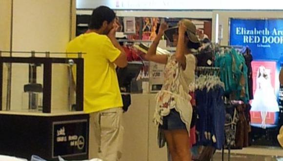 Gianella y Christian hacen ahora compras juntos. (Nancy Condori/RPP)