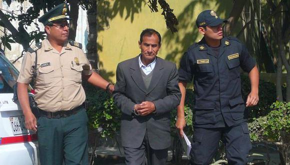 El sujeto ya se encuentra detenido. (Nadia Quinteros)
