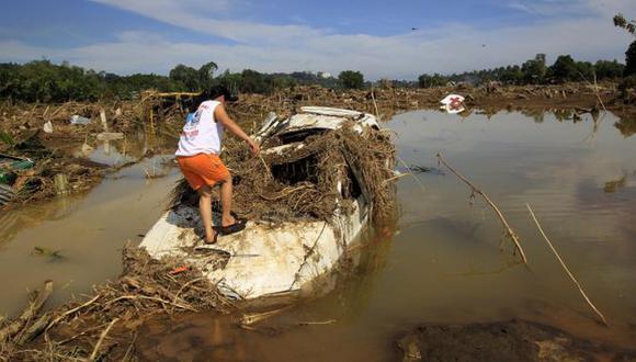 CATÁSTROFE. Inundaciones afectan el sur de Filipinas, y son consecuencia de la tormenta tropical Washi. (Reuters)