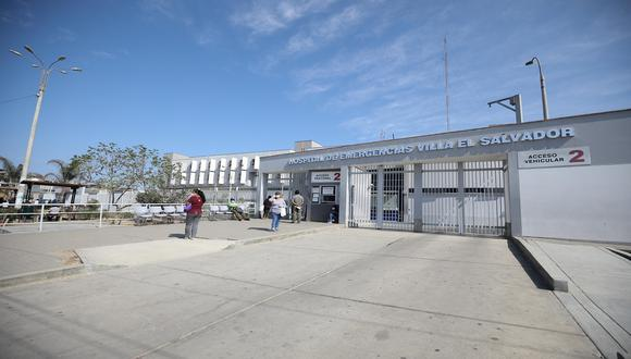 El Hospital de Emergencias de Villa el Salvador informó que la Procuraduría del Ministerio de Salud de Lima Sur indaga el caso de presunta red de tráfico de camas UCI. (Foto: Britanie Arroyo)