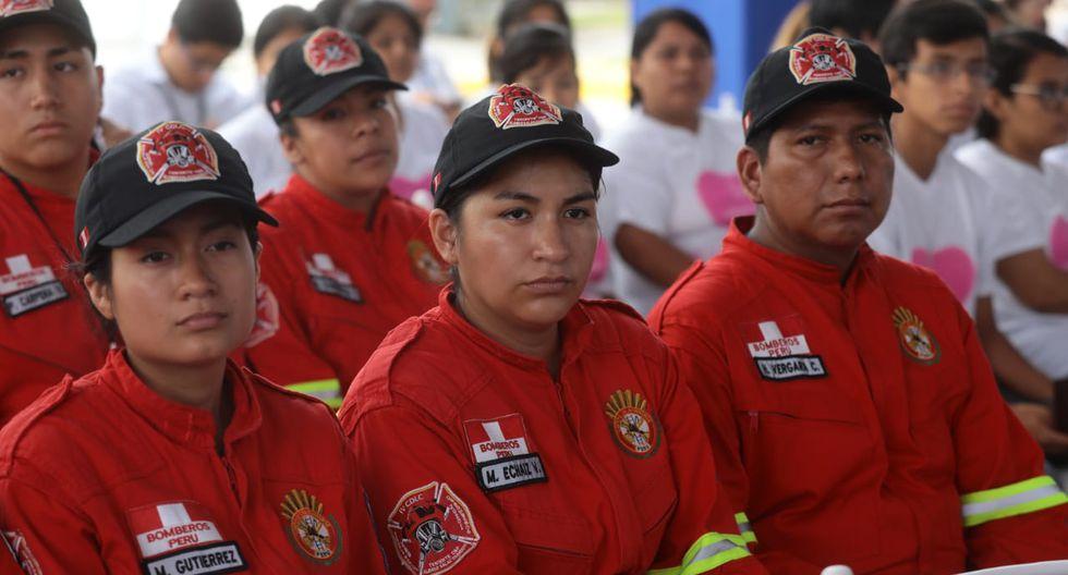 Los bomberos podrán acceder a atenciones de prevención y realizarse una evaluación integral inicial, entre otros. (Foto: EsSalud)
