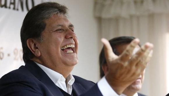 Alan García señaló a las acusaciones sobre los 'narcoindultos' como un escándalo político. (Perú21)
