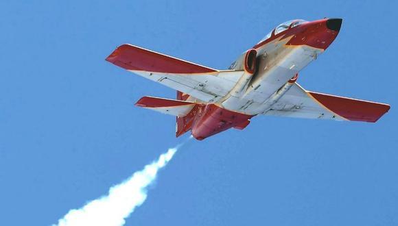 Se estrella en el mar avioneta de la fuerza aérea de España. (Twitter).