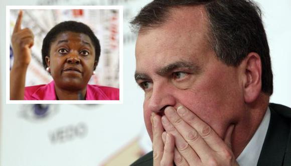 Comparación de Roberto Calderoli contra Cecile Kyenge desata polémica. (AP)