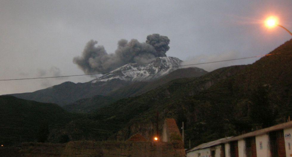 El proceso eruptivo del volcán duraría aproximadamente dos años. (Foto: GEC)