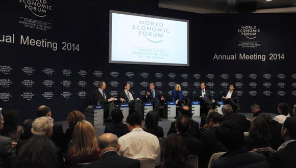 Foro Económico Mundial analiza la crisis europea. (AFP)