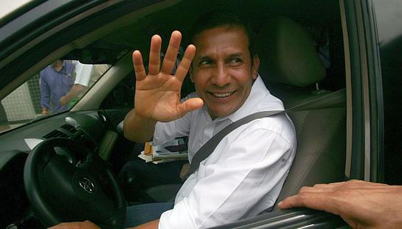 El presidente Ollanta Humala regresará a Lima hoy en la noche. (Rochi León)