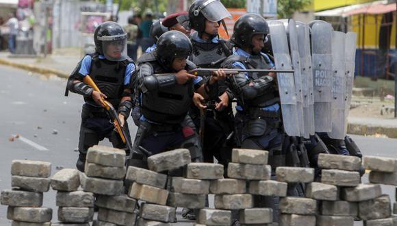 Desde que se iniciaron las protestas, en abril pasado, las fuerzas antimotines han chocado en varias oportunidades con estudiantes de diversas universidades. (AFP)