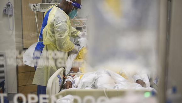 El presidente de Estados Unidos, Joe Biden, ha pronosticado que en total morirán más de 600.000 personas en el país a causa del virus. (Foto: Patrick T. FALLON / AFP)