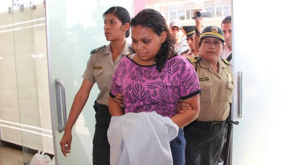 Lady Ancajima está detenida. (USI)
