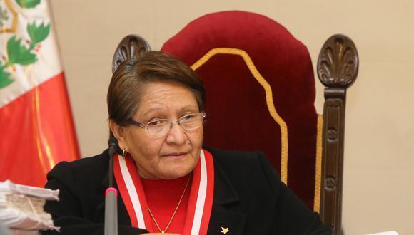La magistrada Mariem Vicky de la Rosa Bedriñana fue nombrada como jueza suprema en diciembre de 2017 por el hoy desactivado Consejo Nacional de la Magistratura (CNM). (Foto: Poder Judicial)