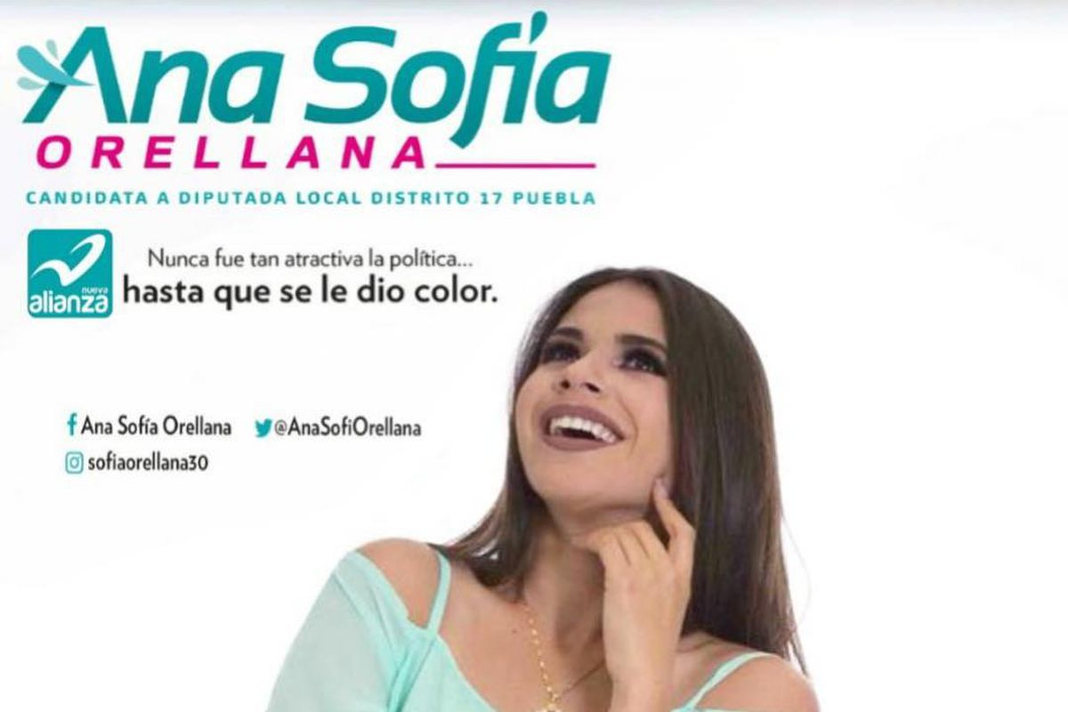 Ana Sofía Orellana de candidata política a conejita playboy: esta es la