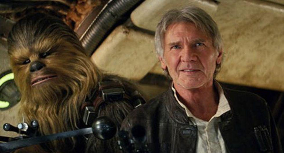 Harrison Ford reconoce que Han Solo le da trabajo hasta ahora. (AP)
