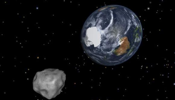 Un asteroide es un cuerpo rocoso que, según su composición, puede ser carbonáceo o metálico y suele tener actividad. (Foto: AFP)