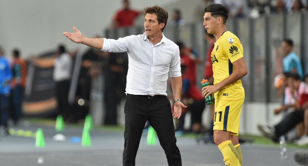 Barros Schelotto señaló que valorará el empate de Boca Juniors ante Alianza Lima posteriormente, con el desarrollo de actividades en el Grupo H de la Libertadores. (AFP)