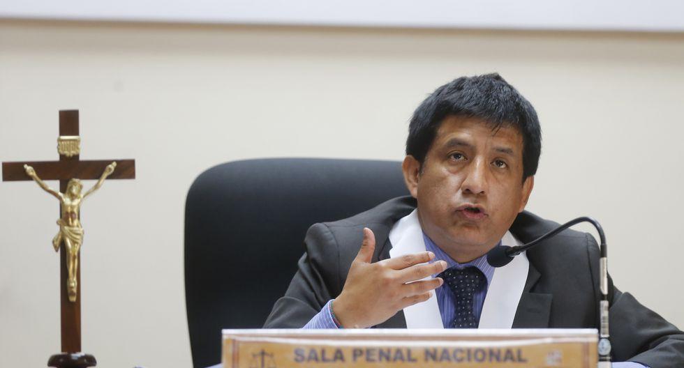 El juez Richard Concepción Carhuancho negó el viernes por la noche estar retrasando el recurso de apelación presentado por la defensa de Keiko Fujimori. (Foto: USI)