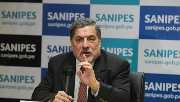 Bustamanre postula al Congreso con Fuerza Popular. (Foto: GEC)