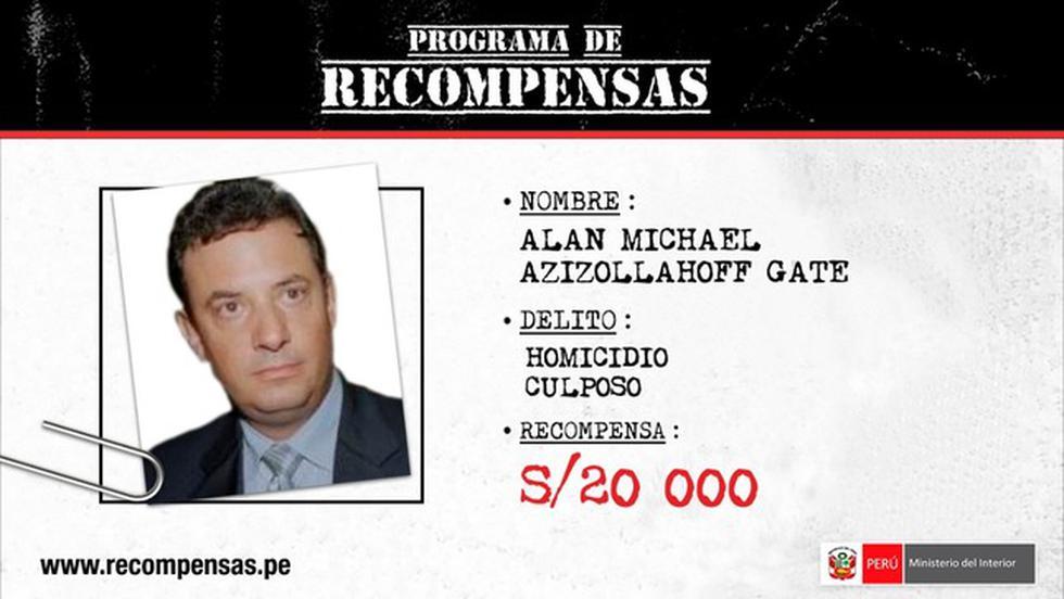 Alan Michael Azizollahoff Gate por el delito de homicidio culposo.