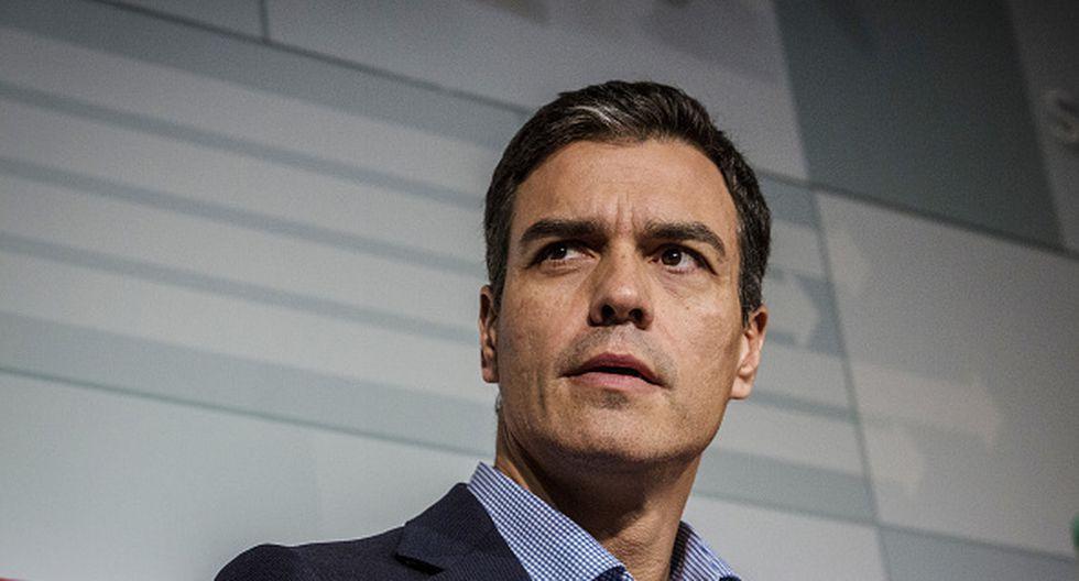 Pedro Sánchez, flamante presidente de España. (Getty)