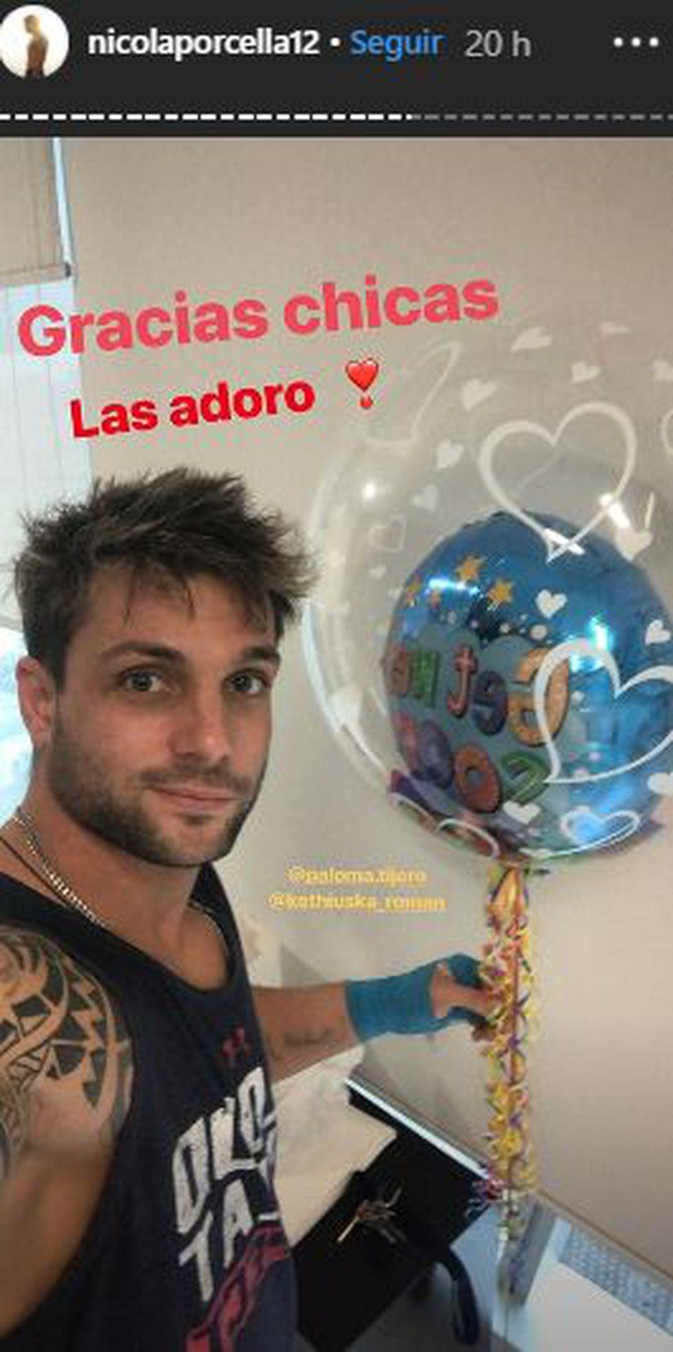 El capitán de los 'guerreros', Nicola Porcella, saldrá de la clínica este viernes para seguir su recuperación en su casa. (Foto: Instagram)