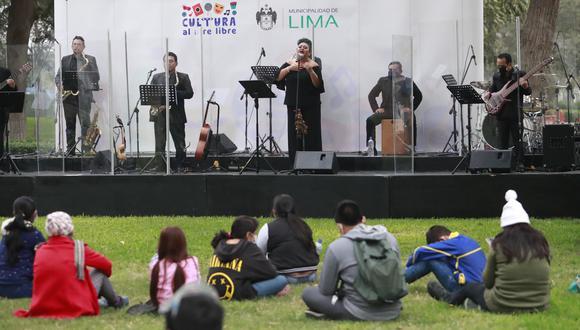Las presentaciones artísticas en Lima y Cajamarca se realizarán con asistencia del público y cumpliendo el protocolo sanitario.