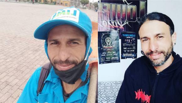 Gracias a un artículo del diario El Espectador, se dio a conocer la historia de José Molina, barrendero colombiano que comparte su día a día en redes sociales. (Fotos: Instagram / @josebaterosanto)
