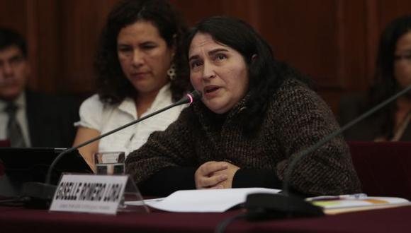 NO VA MÁS. Romero fue nombrada el 5 de diciembre de 2012. (César Fajardo)