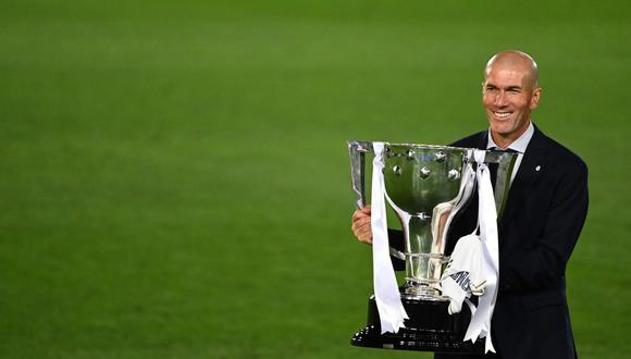 Zinedine Zidane habló sobre su futuro en el Real Madrid. (Foto: AFP)