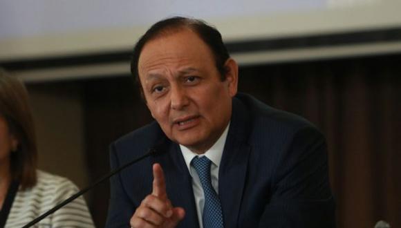 Walter Gutiérrez indicó que la Defensoría realizó dos planteamientos en la sesión del Consejo de Estado. (Foto: GEC)