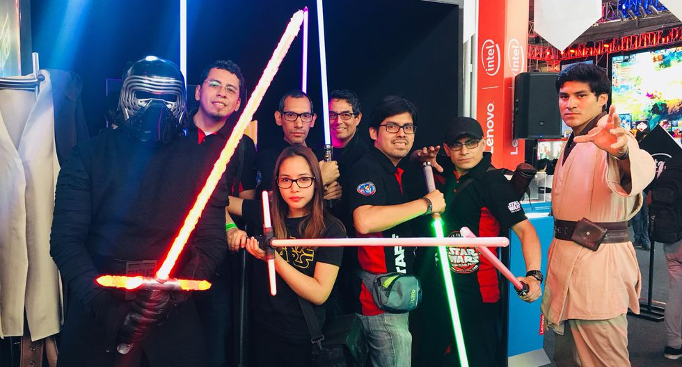 En la capital se desarrollarán múltiples eventos en honor a Star Wars. (Foto: Facebook Lenovo LATAM)