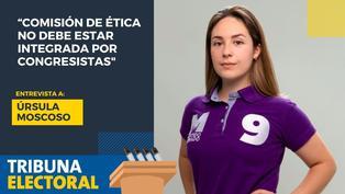 Úrsula Moscoso candidata al Congreso por el Partido Morado