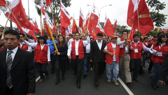 La mente detrás de Castillo. Vladimir Cerrón, condenado por corrupción, es el ideólogo del plan de gobierno de Perú Libre. (GEC)