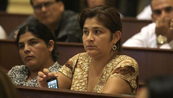 La Fiscalía investiga a la Obregón por sus presuntos vínculos con el cabecilla senderista 'Artemio'. (Martín Pauca)