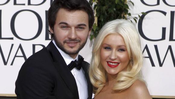 Christina Aguilera está embarazada de su prometido. (AP)