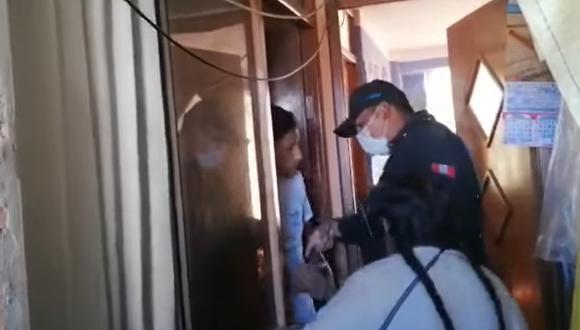 Puno: adulta mayor denuncia haber sufrido agresión física a manos de su propio hijo (Foto: captura de pantalla video)