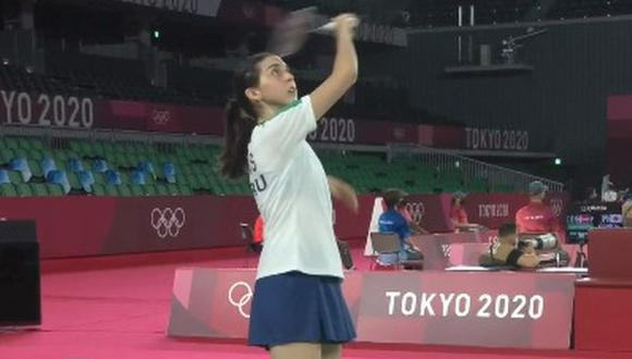 Daniela Macías se despidió de Tokio 2020 con dos derrotas. (Foto: IPD)